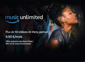 Amazon lance Amazon Music Unlimited en France, un service de streaming musical