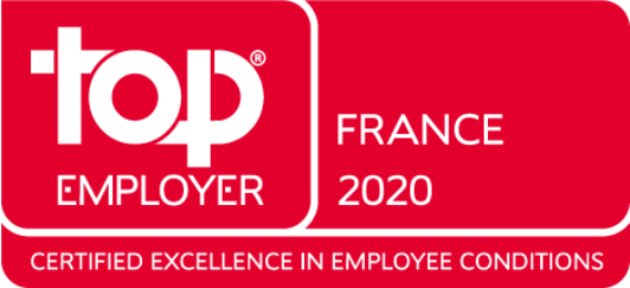 Amazon certifiée Top Employer 2020 en France