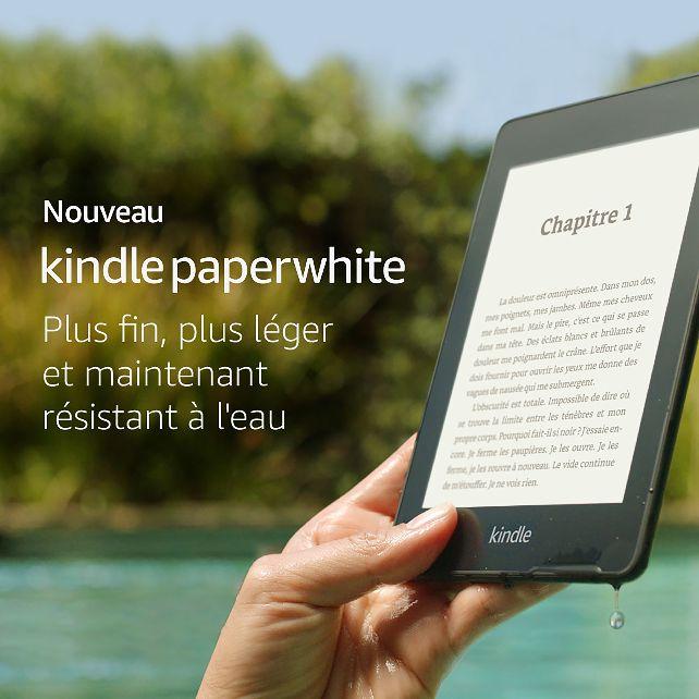 foto de Amazon Newsroom - Kindle Paperwhite nouvelle génération : plus fin ...